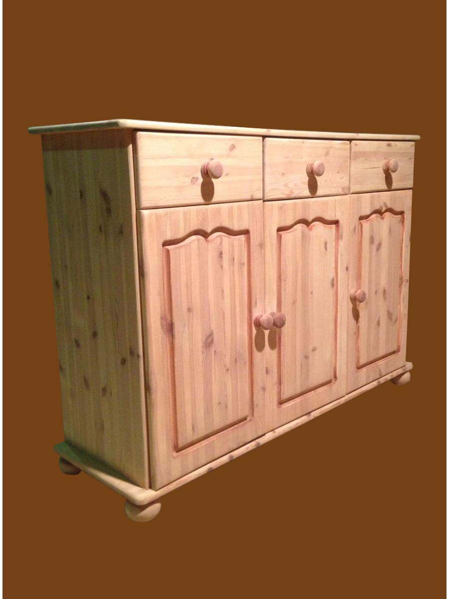Stripped sideboard